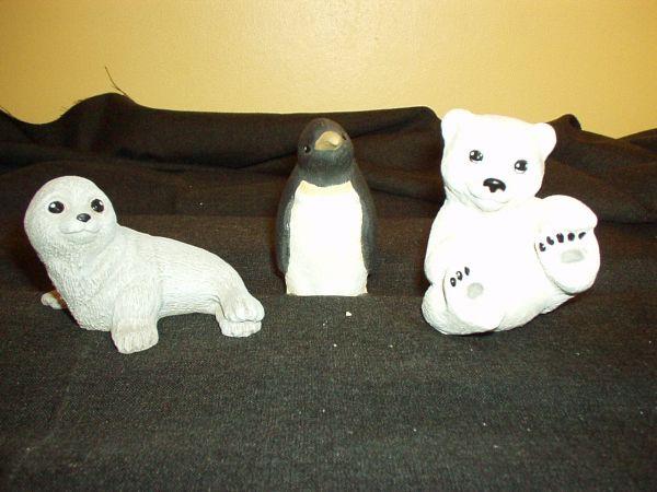 zeehondje,pinguin,ijsbeer - Artikelnr:
